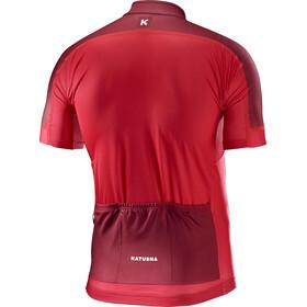 KATUSHA Icon Fietsshirt korte mouwen Heren rood